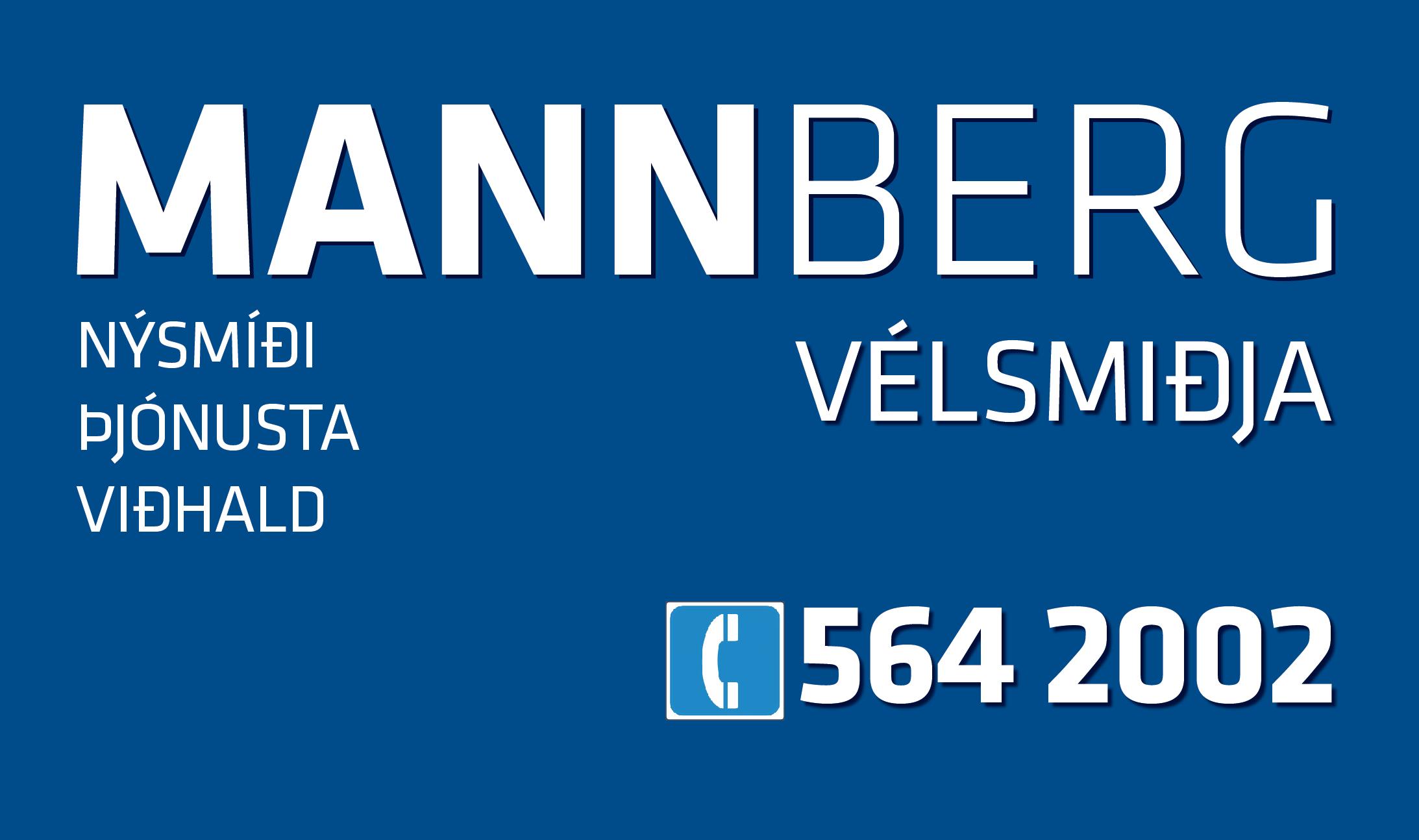 Mannberg ehf Logo
